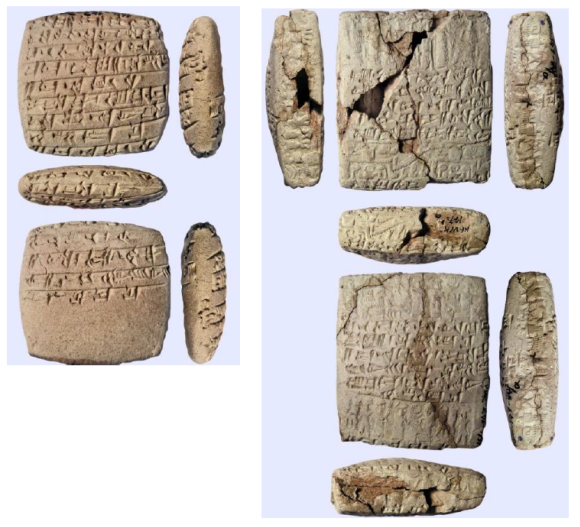 Marriage contract, Kt v/k 147. Photo: C. Michel. ©Kültepe Archaeological Mission.